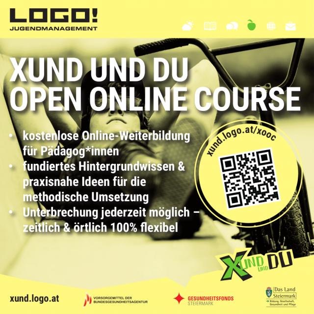 XUND und DU | LOGO jugendmanagement: XUND und DU Open Online Course - Sujet